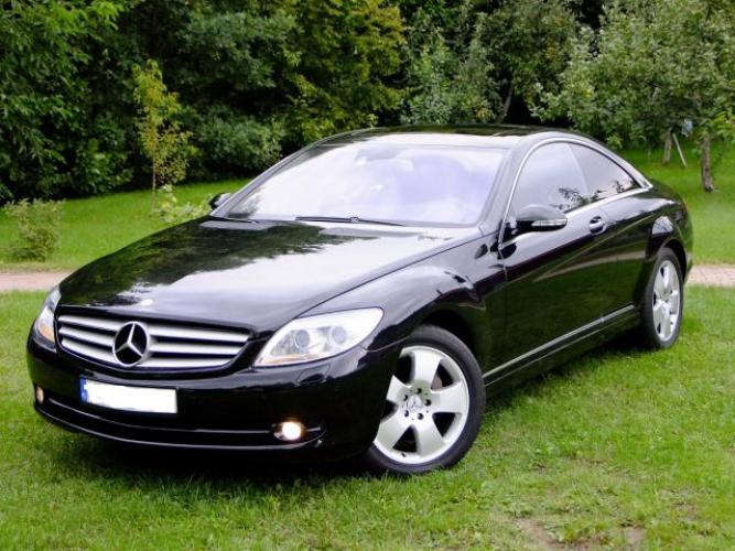 Grajewo ogłoszenia: Mercedes CL importowany z Japonii rok 2007 silnik 5,5 benzyna...