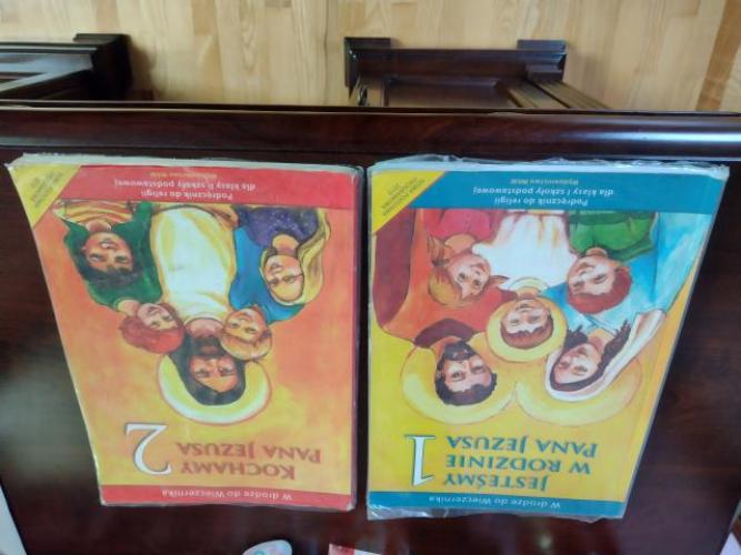 Grajewo ogłoszenia: Do sprzedania książki do religii 1 i 2 klasa szkoły podstawowej...