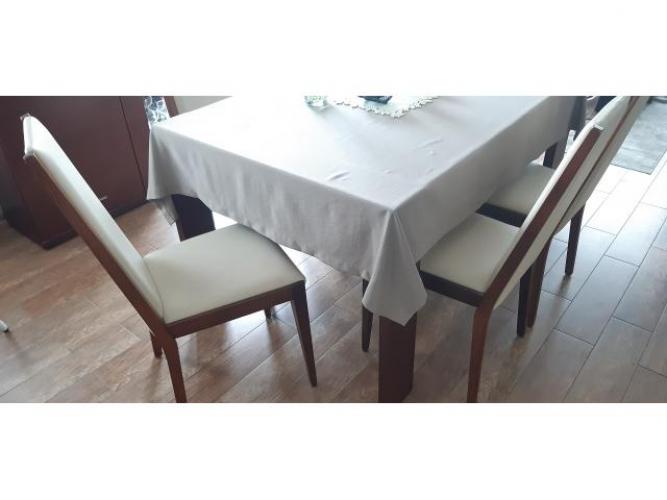Grajewo ogłoszenia: Sprzedam 6 krzeseł drewnianych w kolorze wiśniowym (bez stołu)....