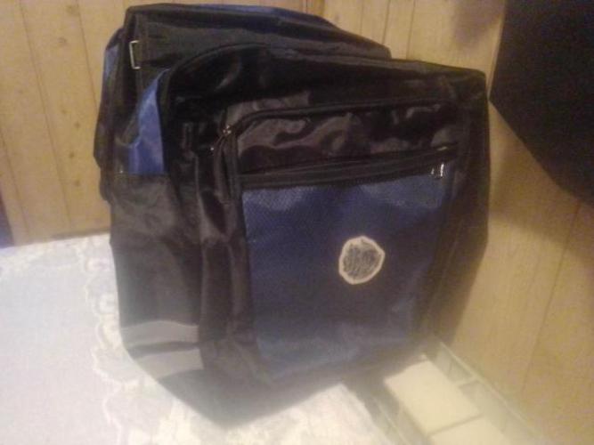 Grajewo ogłoszenia: Nowa torba rowera na bagażnik z kiesząkami