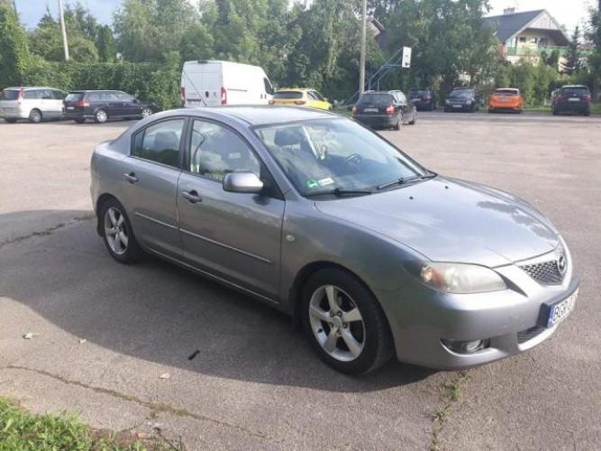 Grajewo ogłoszenia: Sprzedam samochód marki Mazda 3 poj. 1.6 benzyna ,rocznik 2004....