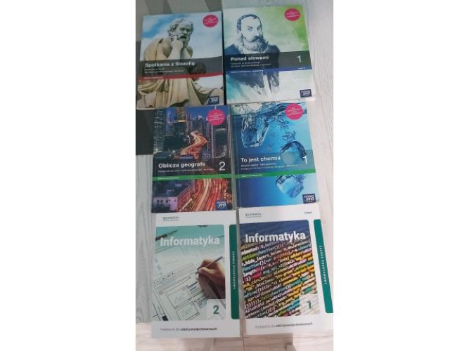 Grajewo ogłoszenia: sprzedam ksiązki do liceum widoczne na zdjęciu, cena 25 zl każda