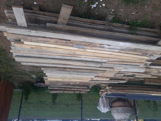 Grajewo ogłoszenia: Sprzedam deski szalunkowe po budowie oczyszczone.34m3