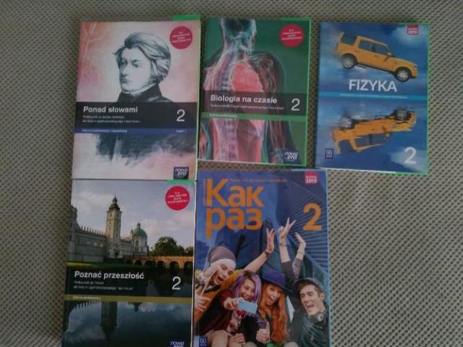 Grajewo ogłoszenia: Sprzedam książki do 2 kl. LO im. Mikołaja Kopernika w Grajewie