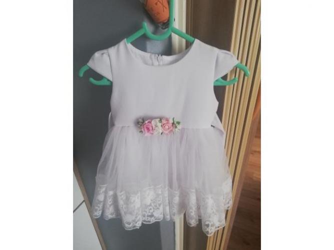 Grajewo ogłoszenia: Sprzedam sukienkę  do chrztu rozmiar 62/68 do tego bolerko i...