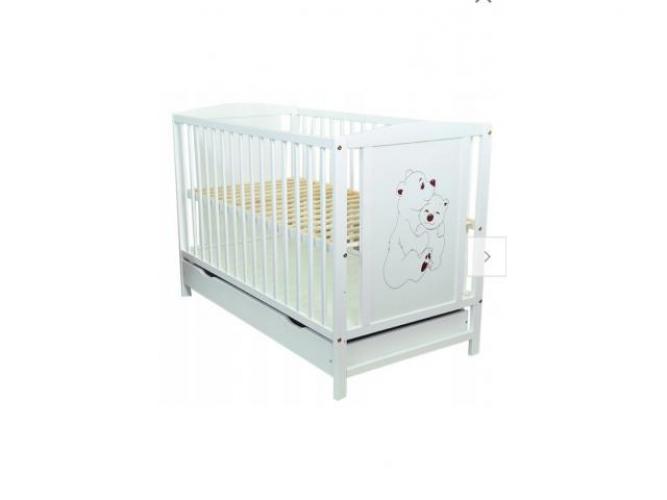 Grajewo ogłoszenia: Sprzedam łóżeczko dla dziecka. W bardzo dobrym stanie, z...