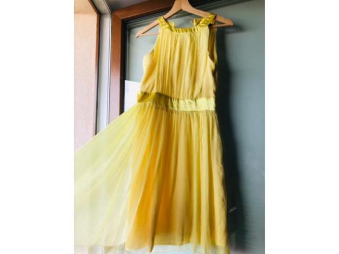 Grajewo ogłoszenia: Sukienka żółta r M