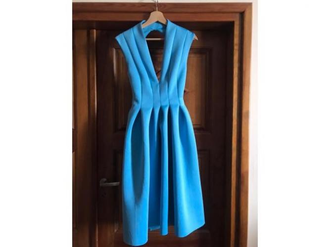 Grajewo ogłoszenia: Sukienka niebieska piankowa r M 38 założona raz