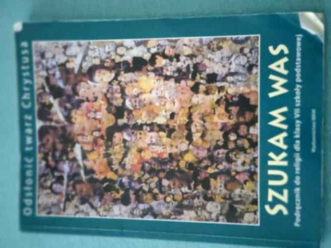 Grajewo ogłoszenia: Sprzedam podręcznik do religii klasa 7
