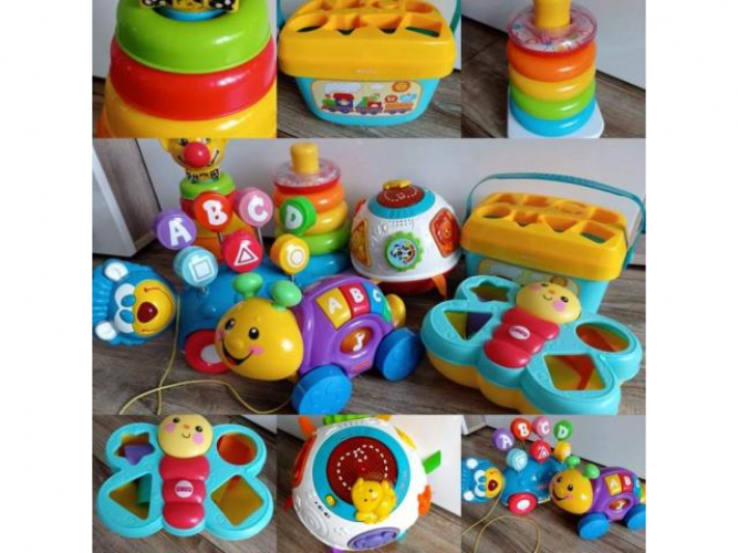Grajewo ogłoszenia: Sprzedam zabawki Fisher-Price całość lub pojedyńcze sztuki