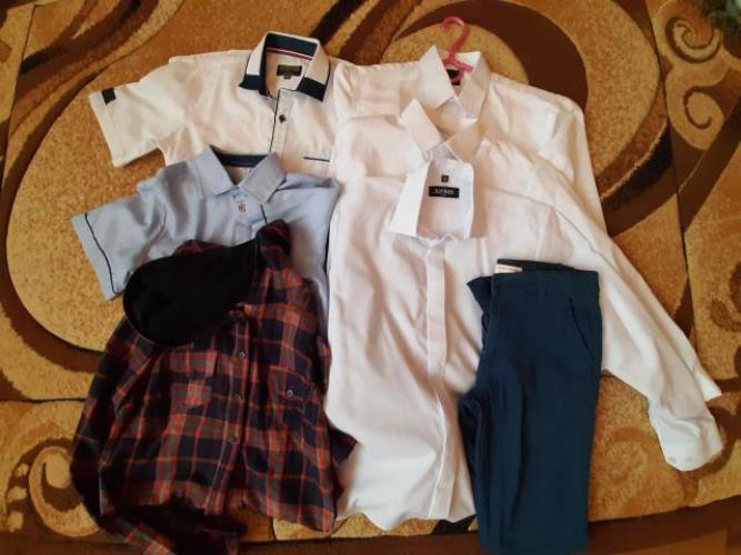 Grajewo ogłoszenia: Sprzedam koszule dla chłopaka na krótki i długi rękaw białe i...