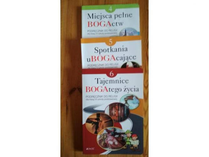 Grajewo ogłoszenia: Sprzedam podręczniki do religii. Cena 8 zł za podręcznik.