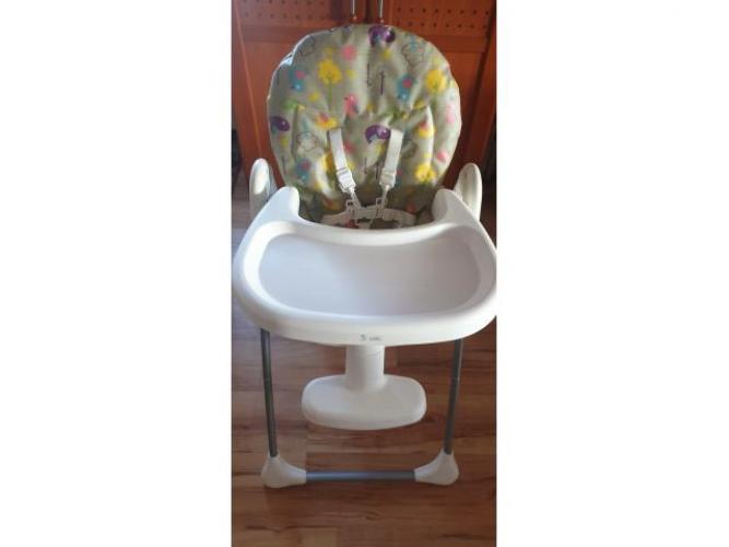 Grajewo ogłoszenia: Krzesełko do karmienia Smiki to nowoczesny i funkcjonalny produkt...