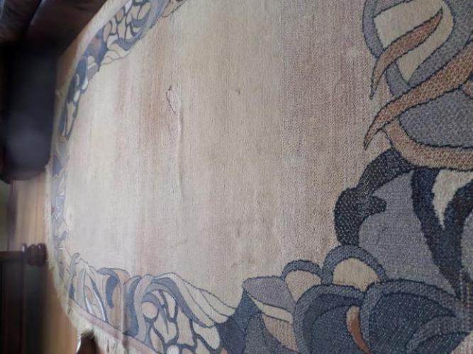 Grajewo ogłoszenia: Sprzedam niewielki , owalny dywan w kolorze miodowym .Na obwodzie...