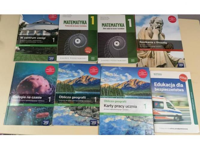 Grajewo ogłoszenia: Sprzedam książki do klasy I liceum