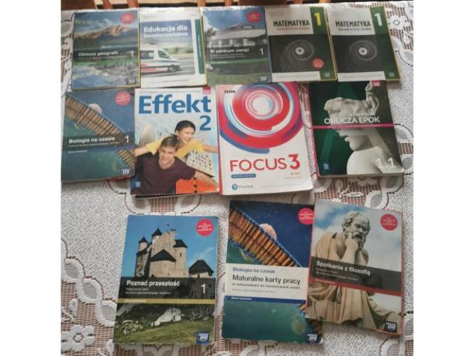 Grajewo ogłoszenia: Sprzedam książki