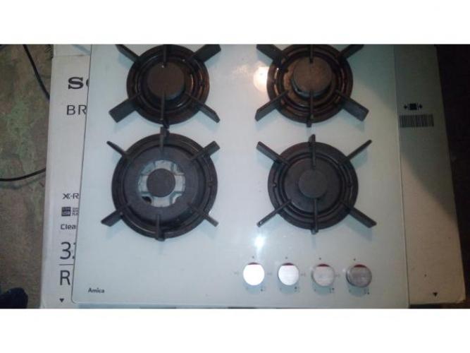 Grajewo ogłoszenia: Sprzedam kuchenkę gazową firmy Amica palniki na szkle wypełni...