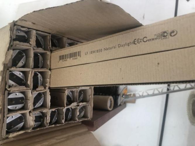 Grajewo ogłoszenia: Rura świetlówkowa 18W/850/G13  24 sztyki 1215 cm  Komplet 50 zł