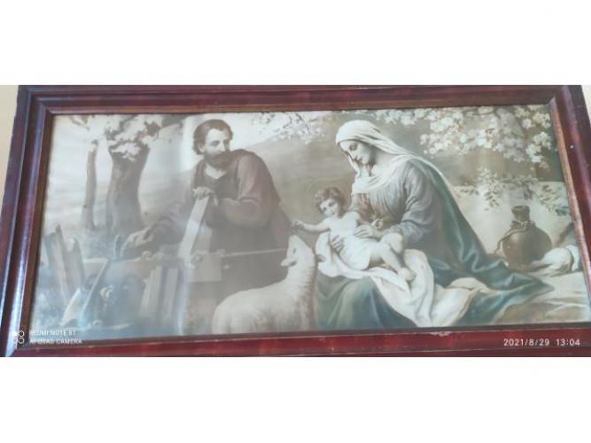 Grajewo ogłoszenia: Sprzedam stary obraz religijny