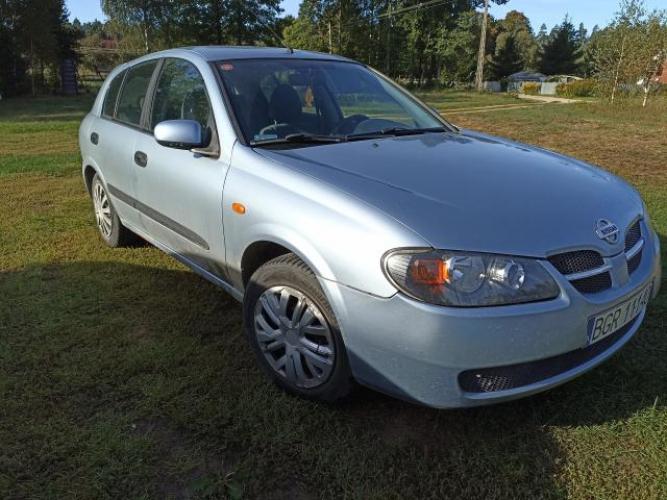 Grajewo ogłoszenia: Sprzedam Nissan Almera 2005r  Ubezpieczenie oraz przegląd ważne...