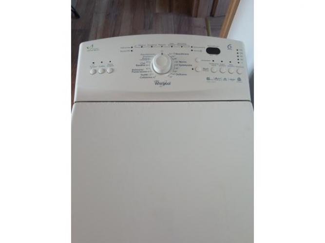 Grajewo ogłoszenia: Sprzedam pralkę Whirpool, górne otwieranie, pojemność 6 kg,...