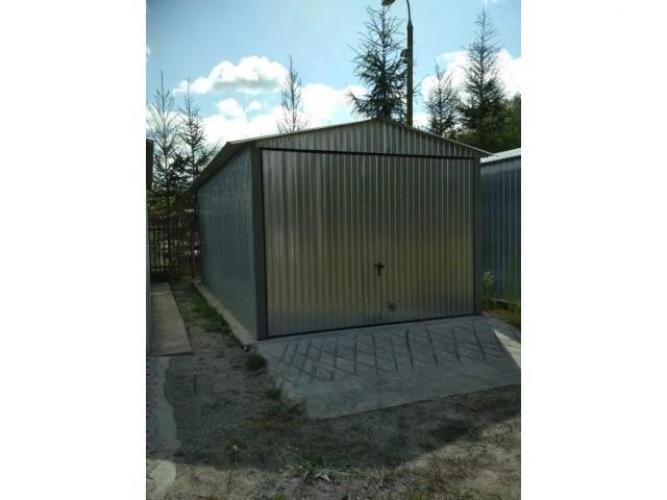 Grajewo ogłoszenia: Sprzedam garaż ocynkowany dwuspadowy z bramą uchylną z...