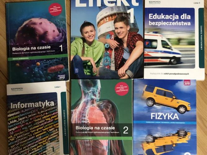 Grajewo ogłoszenia: Sprzedam książki do 1 i 2 klasy Szkoły ponadpodstawowej Biologia...