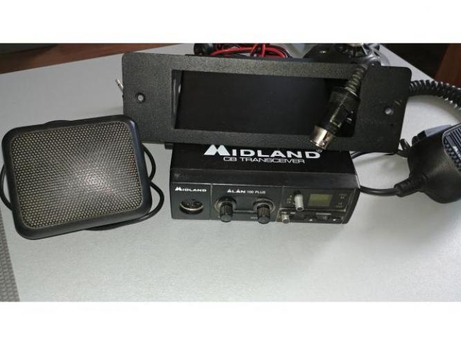 Grajewo ogłoszenia: Radio CB Midland Alan 100 PLUS + antena CB, głośnik, ramka w...