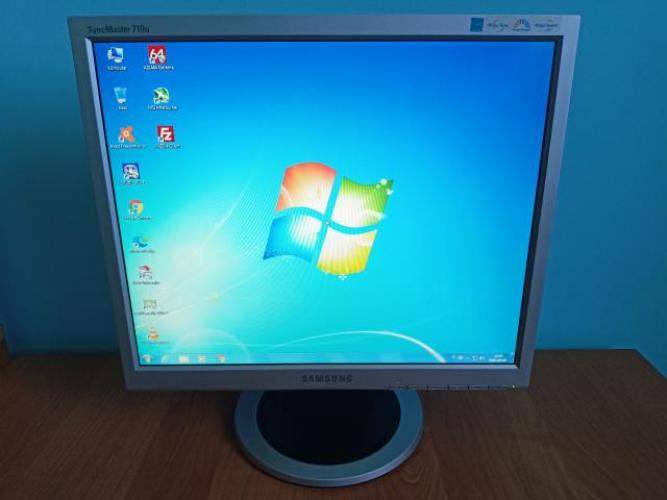 Grajewo ogłoszenia: Witam. Na sprzedaż posiadam monitor LCD Samsung SyncMaster 710N....