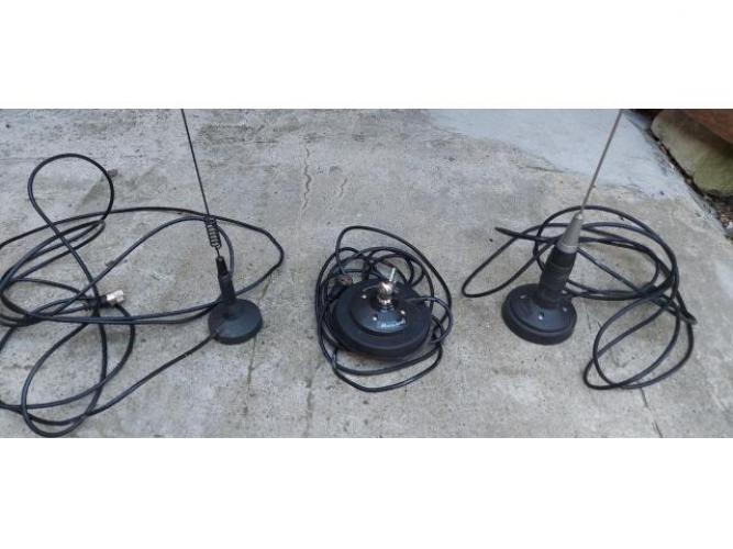 Grajewo ogłoszenia: Anteny do cb radia,jedna krótka,jedna długa z magnesami i kablami...