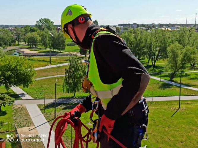 Grajewo ogłoszenia: Zapraszamy do współpracy z zakresu: - alpinizmu przemysłowego...