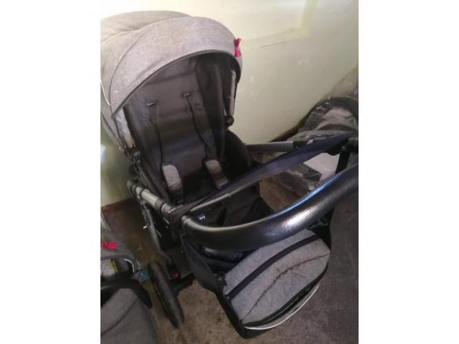 Grajewo ogłoszenia: Sprzedam wózek 3 w1 stan b dobry po jednym dziecku