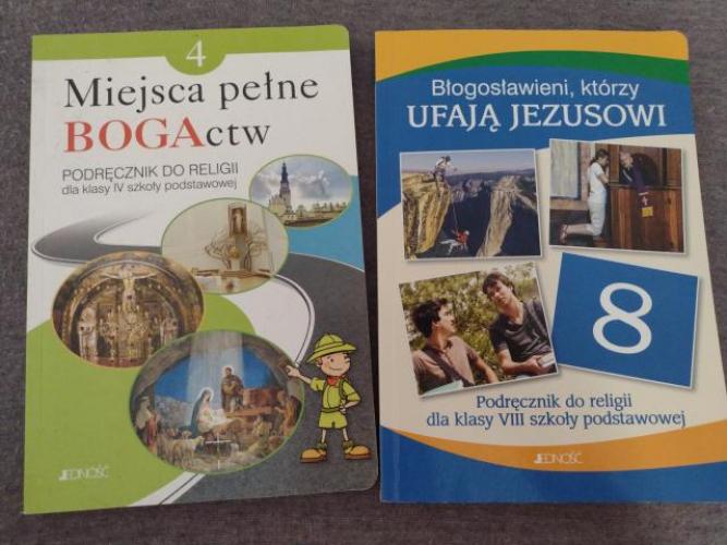 Grajewo ogłoszenia: Sprzedam podręczniki do religii do klasy 4 i 8. Stan bardzo dobry....