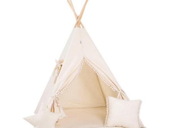 Grajewo ogłoszenia: Sprzedam Namiot Tipi z okienkiem, grubą matą i dwiema poduszkami....