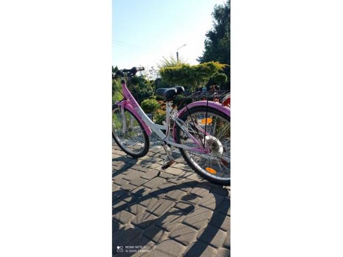 Grajewo ogłoszenia: Sprzedam rower dla dziewczynki koła 24. Stan bardzo dobry....