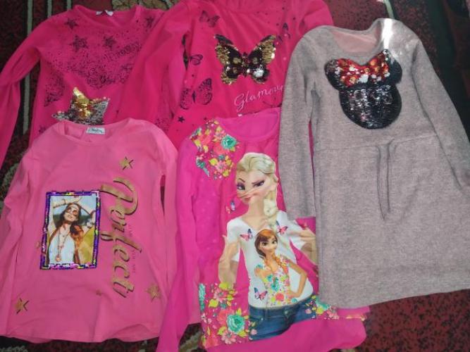 Grajewo ogłoszenia: Sprzedam bluzki oraz jedna sukienke i jedna tunike na 10 lat .Stan...