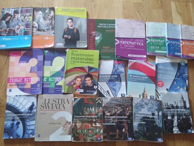 Grajewo ogłoszenia: Sprzedam książki do liceum. Cena za sztukę 10 zł. Stan...