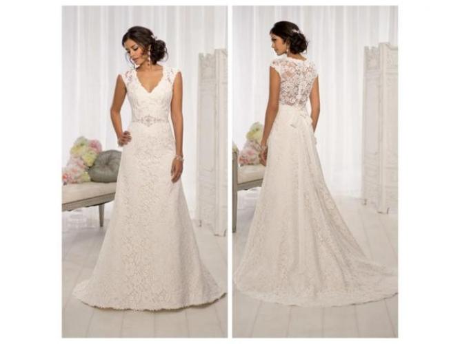 Grajewo ogłoszenia: Okazja nową suknia ślubna z trenem większy rozmiar, plus size...