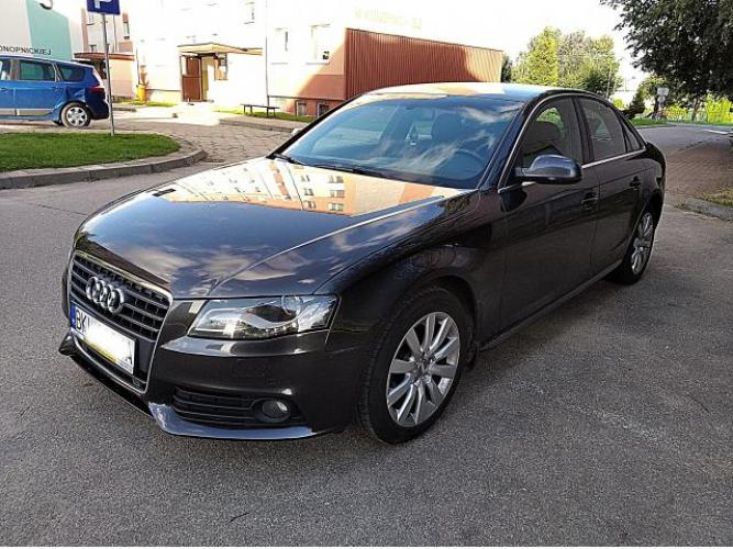 Grajewo ogłoszenia: Sprzedam sprowadzone Audi A4 B8 z 2011r ,silnik diesla 2.0 140ps,...