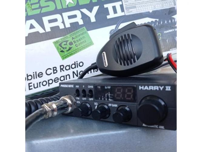 Grajewo ogłoszenia: Sprzedam w stanie idealnym jak nowe Cb radio President Harry 2 oraz...