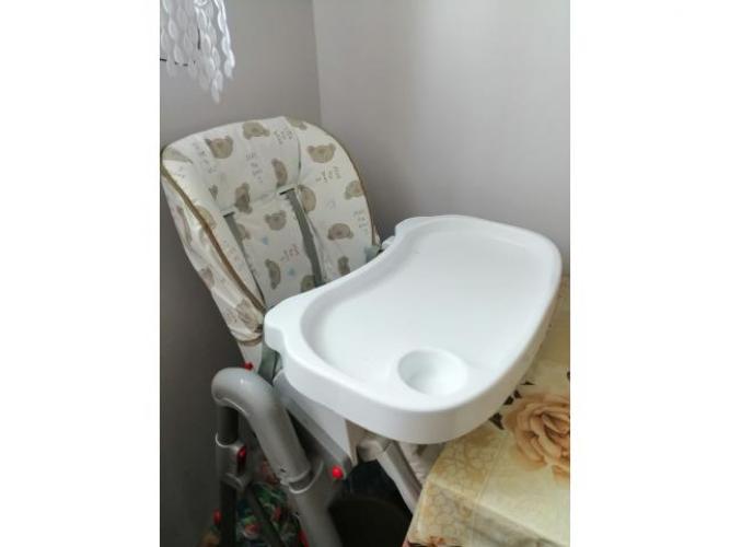 Grajewo ogłoszenia: Sprzedam krzesełko do karmienia masywne w bardzo dobrym stanie...