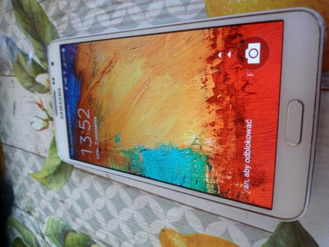 Grajewo ogłoszenia: Sprzedam telefon Samsung Galaxy Note 3 stan dobry 200 zl Grajewo