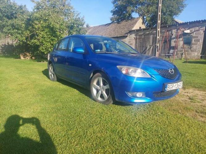 Grajewo ogłoszenia: Mazda 3, benzyna +gaz. Rok produkcji 2004,pojemność 1.6....