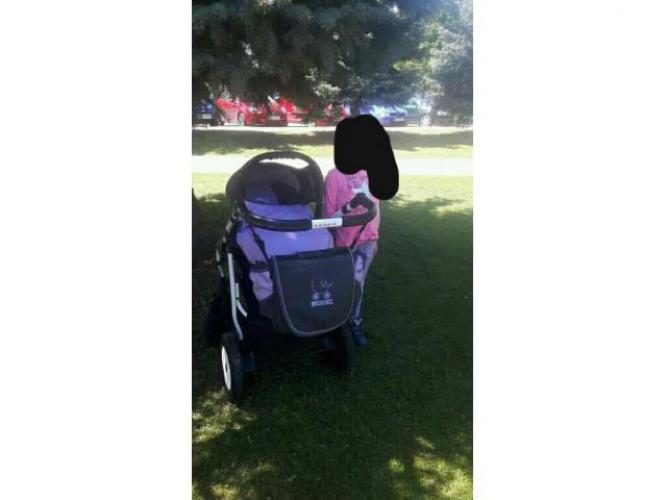 Grajewo ogłoszenia: Sprzedam wózek 3 w 1 gondola spacerowka fotelik torba do wozka