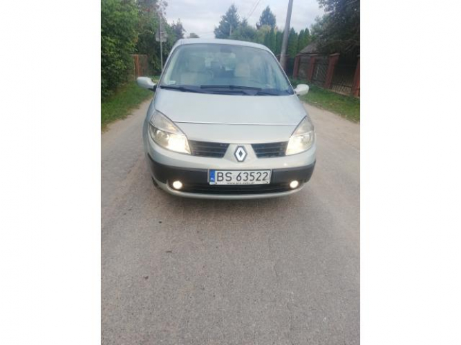 Grajewo ogłoszenia: Sprzedam Renault Megane Scenic 2004 roku 1.9 diesel 120 koni 7...