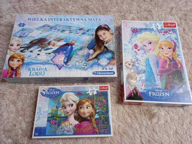 Grajewo ogłoszenia: Sprzedam interaktywną matę i puzzle stan bardzo dobry.