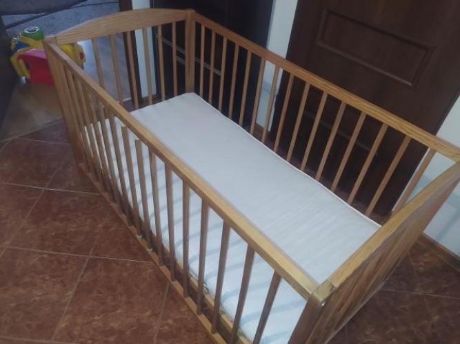 Grajewo ogłoszenia: Drewniane używane łóżeczko. Łóżeczko w stanie dobrym, po...