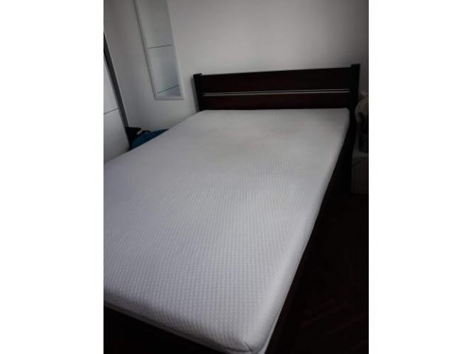 Grajewo ogłoszenia: Sprzedam łóżko z materacem 200×140