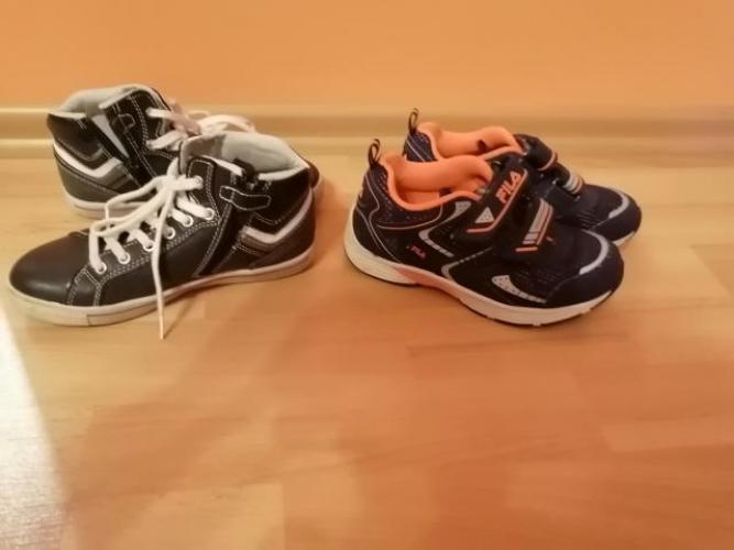 Grajewo ogłoszenia: Sprzedam buty american rozmiar 30 za 28 zł i adidasy Fila rozmiar...