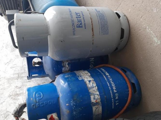 Grajewo ogłoszenia: Sprzedam używaną butle gazową propan-butan 11kg.
